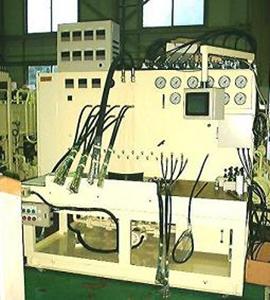 コントロールバルブ性能試験機