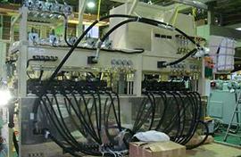 建機用バルブ性能試験機