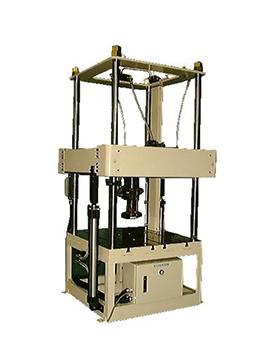 油圧液試験機用4柱フレーム