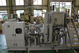 火力発電設備向け油圧装置